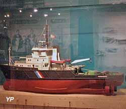 Musée des marins et capitaines - remorqueur Abeille (Musée de l'ile d'Arz)