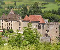 Château de Marguerite de Bourgogne (Château de Couches)