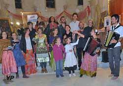 Église de Saint-Julien des Eglantiers - soirée yiddish