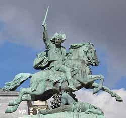 Statue équestre de Vercingétorix par Bartoldi