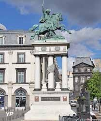 Place de Jaude, statue de Vercingétorix