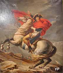 Napoléon franchissant le Grand Saint-Bernard (anonyme, Musée Labenche)