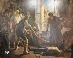 Assassinat du maréchal Brune (Jean-Jacques Scherrer, Musée Labenche) (Yalta Production)