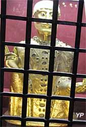 buste de saint Baudime (XIIe s.)