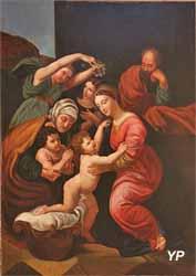 La Sainte Famille (XIXe s., d'après Raphaël)