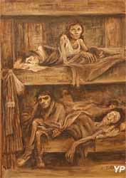 Ravensbrück, les châlits (Anna Garcin-Mayade, musée Edmond Michelet) (Yalta Production)