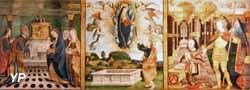 Polyptyque de la vie de la Vierge