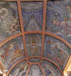 Plafond du choeur