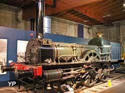 Locomotive Sézanne - compagnie de Montereau à Troyes (1847)