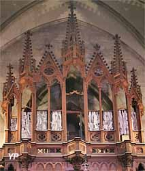 Buffet de l'orgue Walcker (vide)