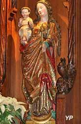 Vierge rhénane ou Vierge de Colmar (bois polychrome, XVe s.)