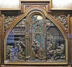 Triptyque de la vie de sainte Anne (Hans Wyditz, XVIe s.)