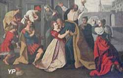 Cinq scènes de la vie de Suzanne (XVIe s.)
