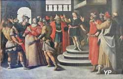 Cinq scènes de la vie de Suzanne : Intervention de Daniel, le futur prophète (XVIe s.)