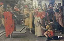 Cinq scènes de la vie de Suzanne : Suzanne comparaît devant le tribunal (XVIe s.)