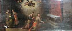 Légende de saint Amâtre : vœux de virginité d'Amâtre et de son épouse Marthe (XVIIe s.)