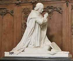 Monument funéraire à Mgr Guerrin, évêque de Langres (sculpteur Jean-Marie Bonassieux)