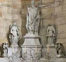 Saint Didier et quatre anges (sculpteur Jules Naudet)