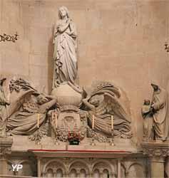 Autel de la Vierge (sculpteur Joseph Descornel)