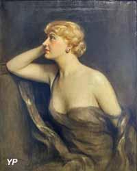 Portrait de Suzanne Delvé (Jules Cayron, 1933) (Yalta Production)