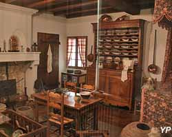 Intérieur rural charentais en 1875