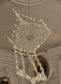 Lustre Chaise lumineuse (Géraldine Gonzalez, 1961)