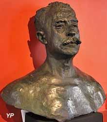 Buste de Clémentel (bronze, Auguste Rodin)