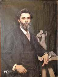 Portrait du sculpteur Mombur (attribué à Louis-Joseph Pottin, 1890)