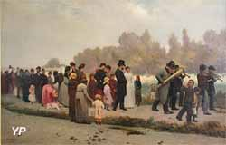 La noce à Asnières (Alphonse Cornet)