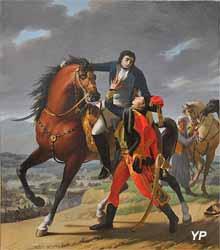 La mort de Desaix (Jean-Baptiste Regnault)