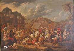 Bataille de Saint-Jacques contre les Arabes (école flamande, XVIIe s.)