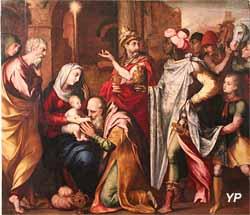 Adoration des Mages (attribué à Martin de Vos)