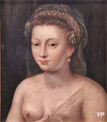 Portrait de femme  (école de Fontainebleau, XVIe s.)
