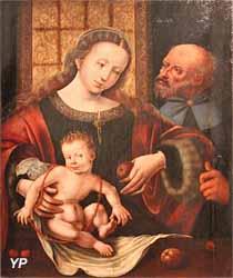 Sainte Famille (attribué à Jan Gossaert, dit Mabuse, XVIe s.)