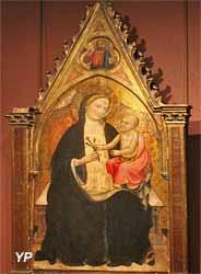 Vierge à l'oeillet (attribué à Allebreto Nuzi, XIVe s.)