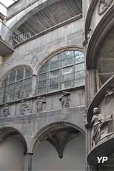 Hôtel Guymoneau, rue de l'Horloge (vers 1530, ISMH)