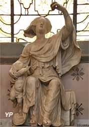 La Foi (marbre, XIXe s.)