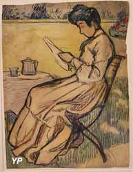 La lecture (André Mare - exposition temporaire 2016)
