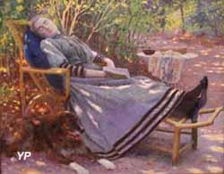 La convalescente (Adolphe Gustave Binet - exposition temporaire 2016)