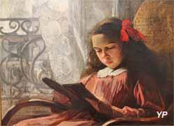 La lecture (Angèle Blanche Denvil - exposition temporaire 2016)
