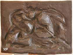 Les amants (bronze, Raymond Duchamp-Villon)