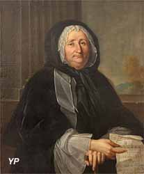 Portrait de Mme Anne de Ticheville (Michel-Hubert Descours, 1747)