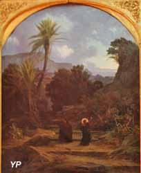 Le figuier maudit (Charles-Joseph Lecointe, XIXe s.)