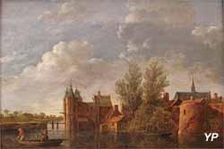 Les murs de Dordrecht (Jan van Goyen, XVIIe s.)