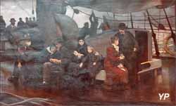 Les émigrants (Charles Emmanuel Jadin, 1876)