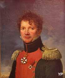 Portrait du colonel Hubert de la Huberdière (Henri-François Riesener, 1812)