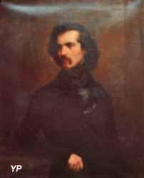 Portrait de Lottin de Laval (Auguste Charpentier, XIXe s.)