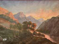 Paysage des bords de la Sioule (Pierre-Victorien Lottin de Laval, 1890)