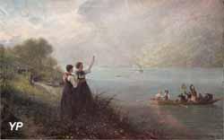 Au revoir l'Alsace (Gustave Jundt, XIXe s.)