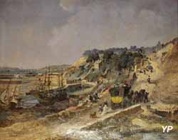 Vue de Brest (Jules Noël, 1874)